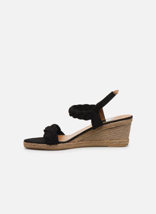 Espadrilles I Love Shoes FIZZY Size + Noir vue face