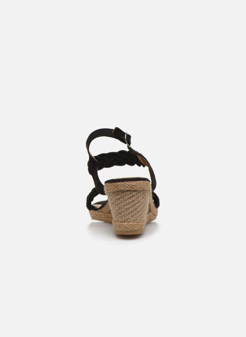 Espadrilles I Love Shoes FIZZY Size + Noir vue droite