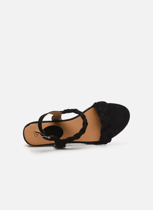 Espadrilles I Love Shoes FIZZY Size + Noir vue gauche