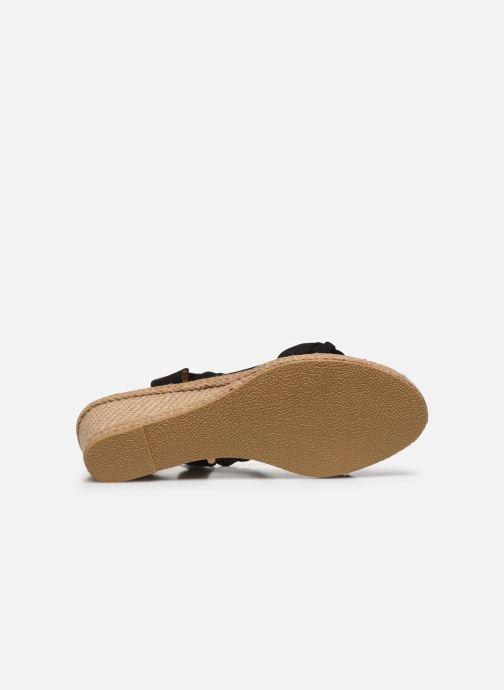 Espadrilles I Love Shoes FIZZY Size + Noir vue haut