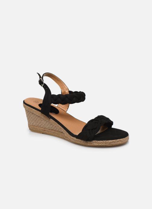 Espadrilles I Love Shoes FIZZY Size + Zwart detail
