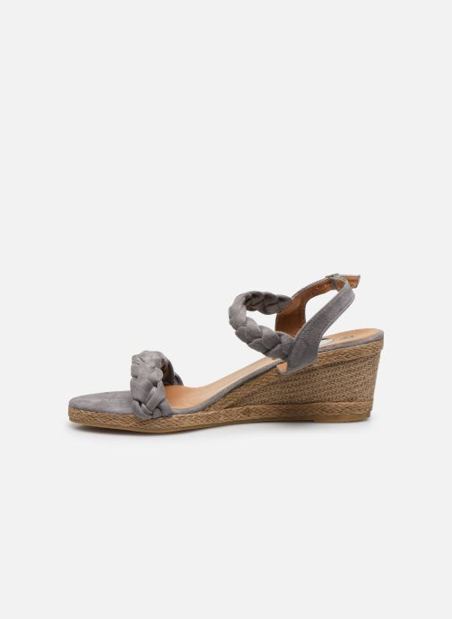 Espadrilles I Love Shoes FIZZY Size + Gris vue face