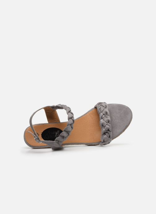 Alpargatas I Love Shoes FIZZY Size + Gris vista lateral izquierda