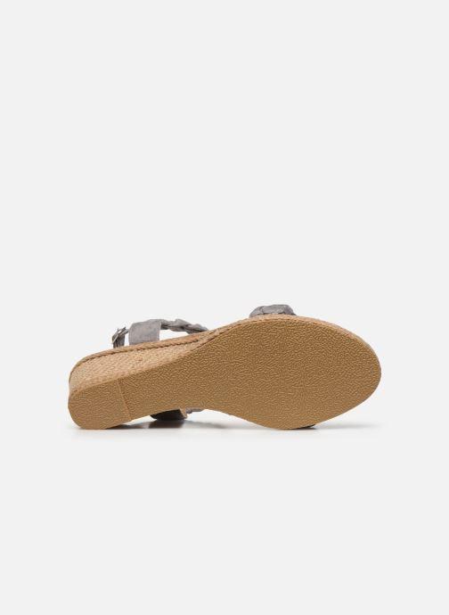 Espadrilles I Love Shoes FIZZY Size + Gris vue haut