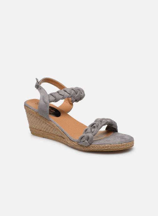 Espadrilles I Love Shoes FIZZY Size + Gris vue détail/paire