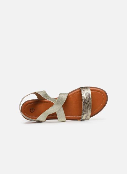 Sandalias I Love Shoes FISTICK Size + Oro y bronce vista lateral izquierda