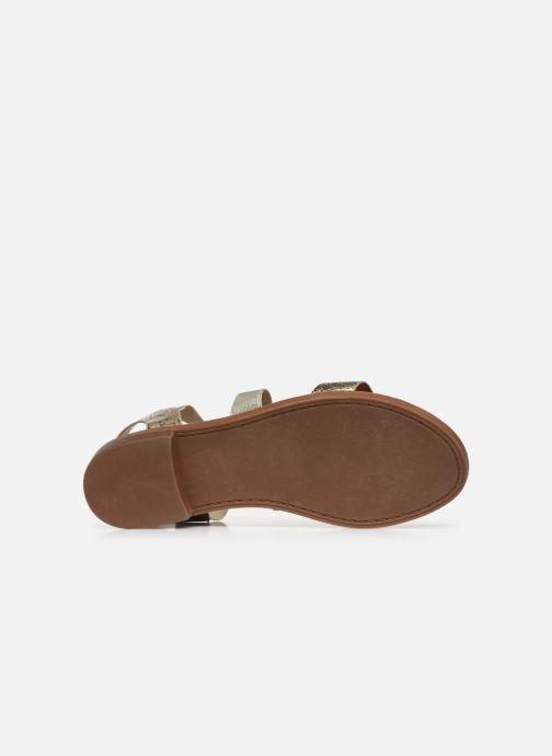 Sandalias I Love Shoes FISTICK Size + Oro y bronce vista de arriba