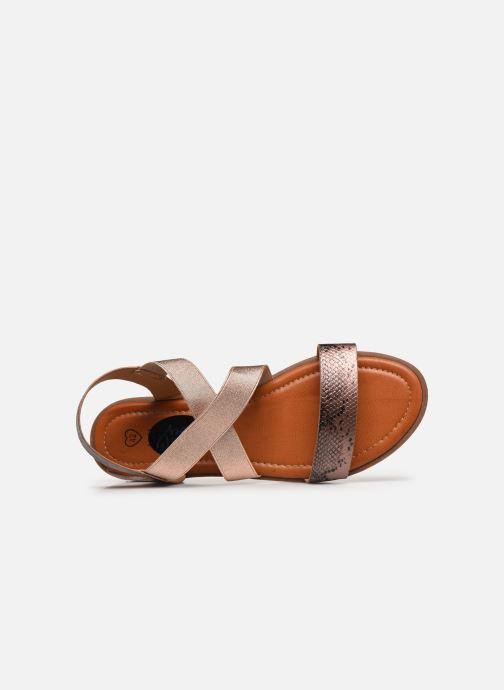 Sandalias I Love Shoes FISTICK Size + Rosa vista lateral izquierda