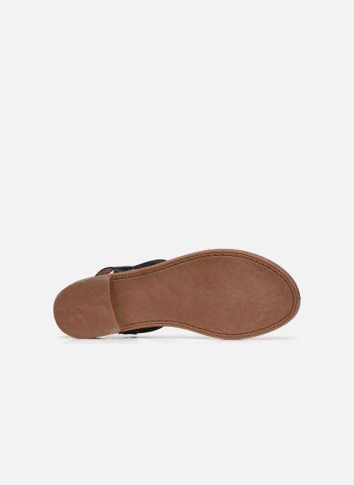 Sandalen I Love Shoes FITOU Size + schwarz ansicht von oben