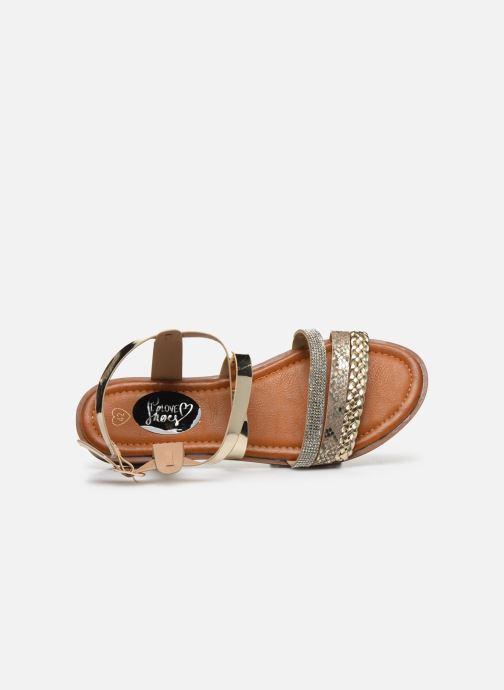 Sandalen I Love Shoes FITEUR Size + Goud en brons links