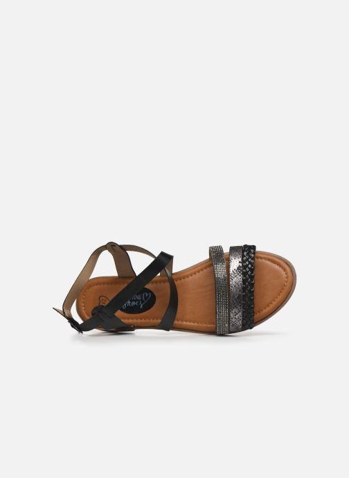 Sandalias I Love Shoes FITEUR Size + Negro vista lateral izquierda