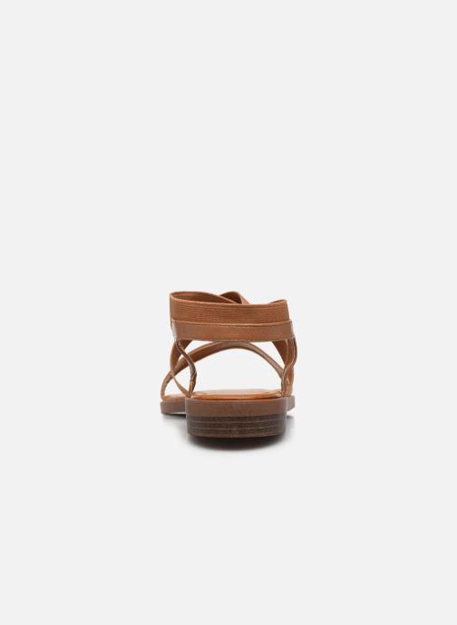 Sandali e scarpe aperte I Love Shoes THAVA Size + Marrone immagine destra