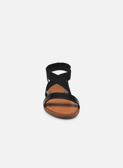 Sandali e scarpe aperte I Love Shoes THAVA Size + Nero modello indossato