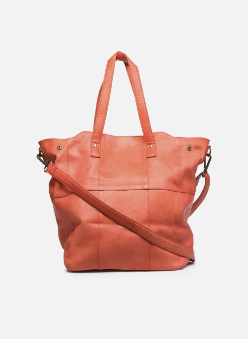 Sacs à main Pieces Gro Leather Shopper Rouge vue face