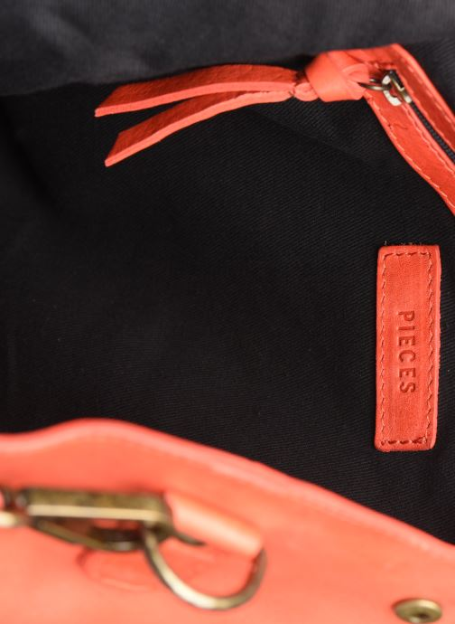 Sacs à main Pieces Gro Leather Shopper Rouge vue derrière