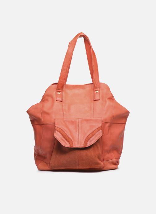 Sacs à main Pieces Gro Leather Shopper Rouge vue détail/paire