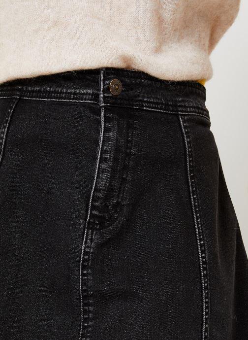 Vêtements Pieces Iris Hw Skater Skirt Bl627-Vi Noir vue face