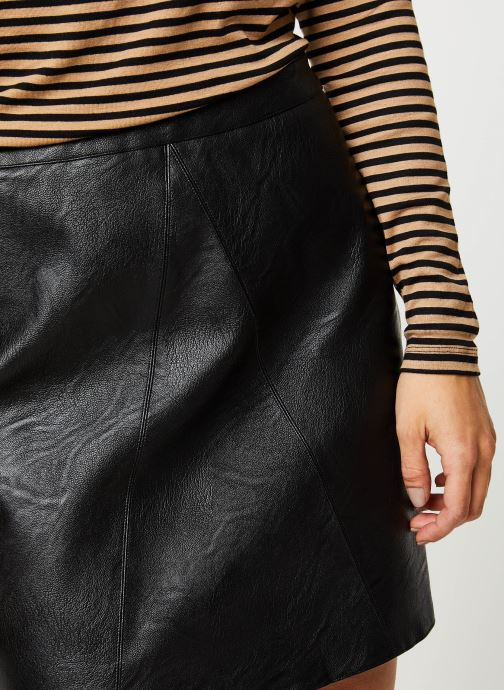 Vêtements Pieces Jabba Hw Skirt Noir vue face
