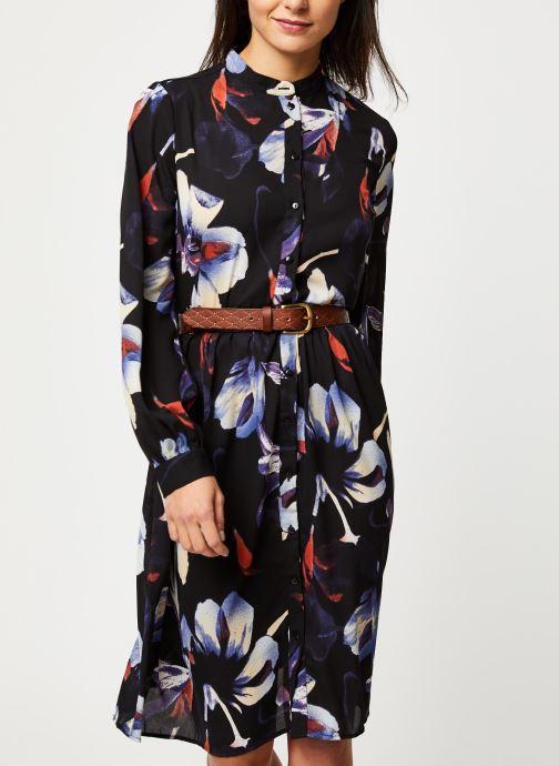 Vêtements Pieces Sanni Ls Shirt Dress D2D Noir vue détail/paire