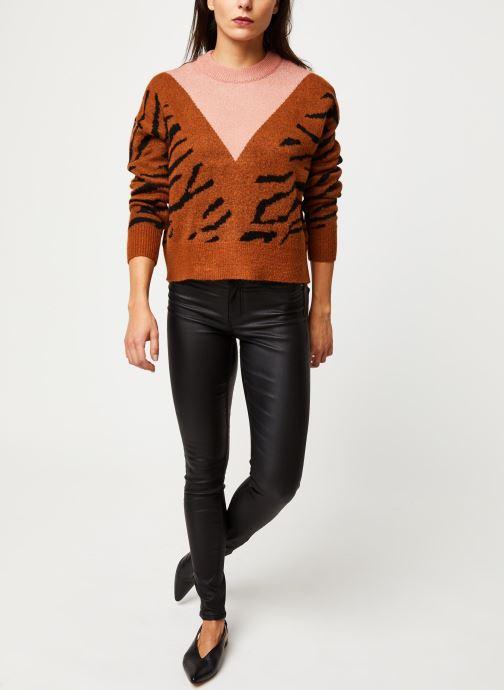 Vêtements Pieces Shape Up Ultra Skn Mw Coated Jns-Vi Noir vue bas / vue portée sac