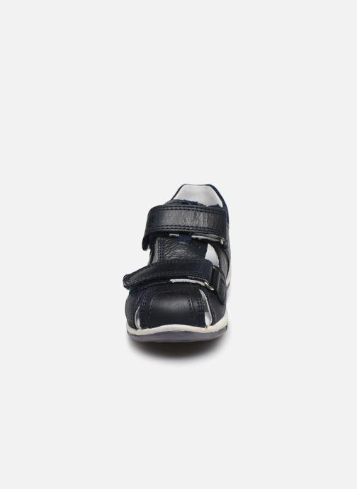 Sandales et nu-pieds Superfit Freddy 2 Bleu vue portées chaussures