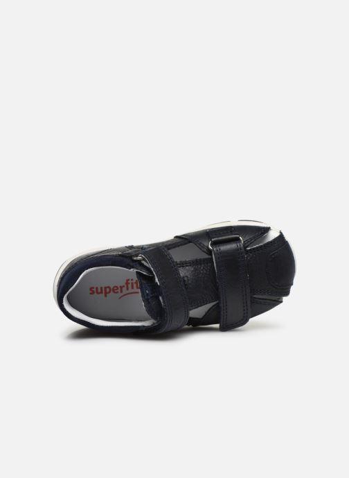 Sandales et nu-pieds Superfit Freddy 2 Bleu vue gauche