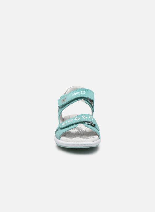 Sandales et nu-pieds Superfit Emily 3 Vert vue portées chaussures