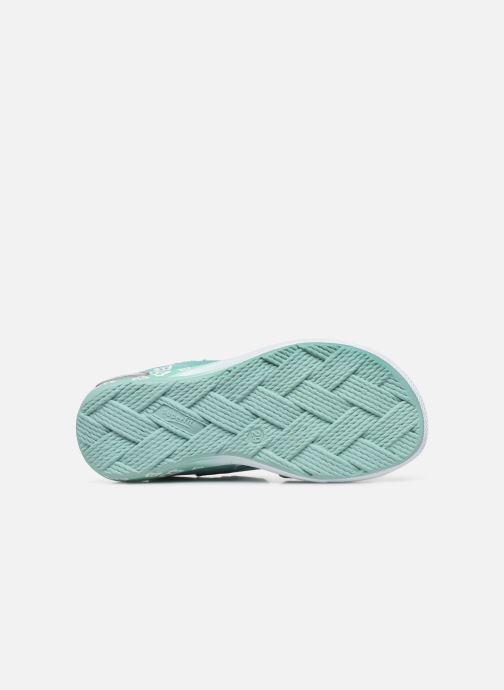 Sandales et nu-pieds Superfit Emily 3 Vert vue haut