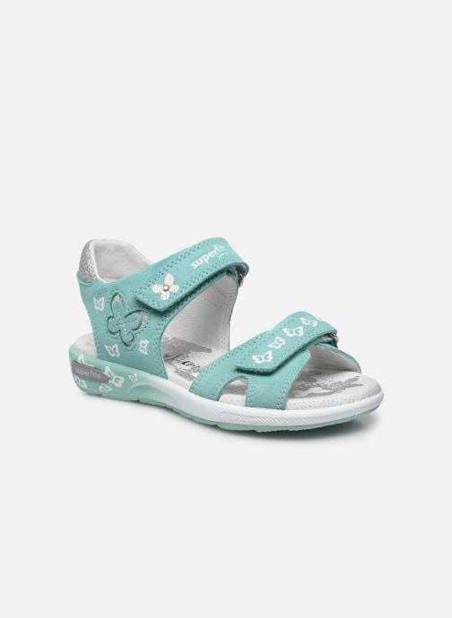 Sandales et nu-pieds Superfit Emily 3 Vert vue détail/paire