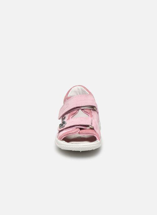 Sandali e scarpe aperte Superfit Polly 2 Rosa modello indossato