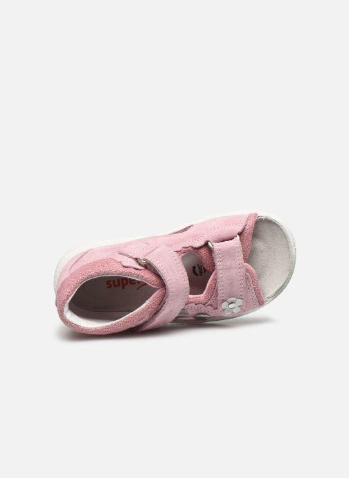 Sandali e scarpe aperte Superfit Polly 2 Rosa immagine sinistra