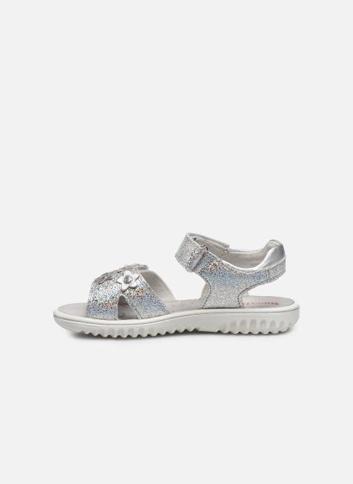 Sandalen Superfit Sparkle silber ansicht von vorne