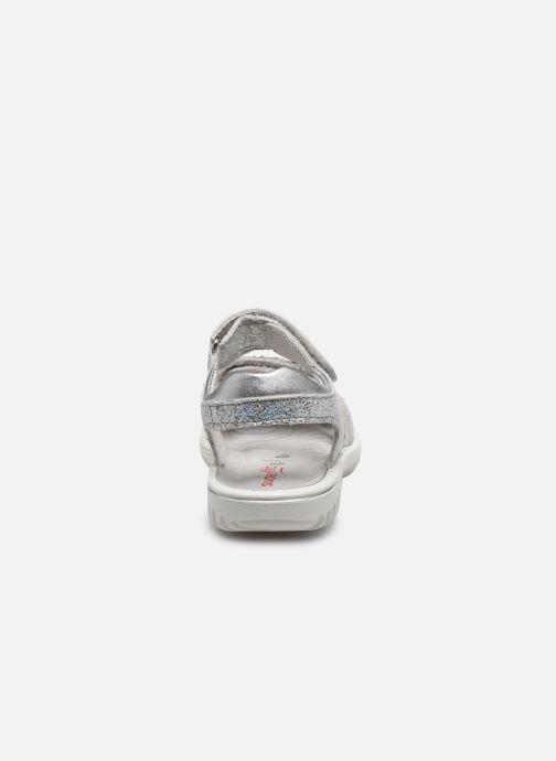 Sandalen Superfit Sparkle silber ansicht von rechts