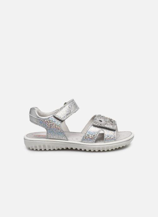 Sandalen Superfit Sparkle silber ansicht von hinten