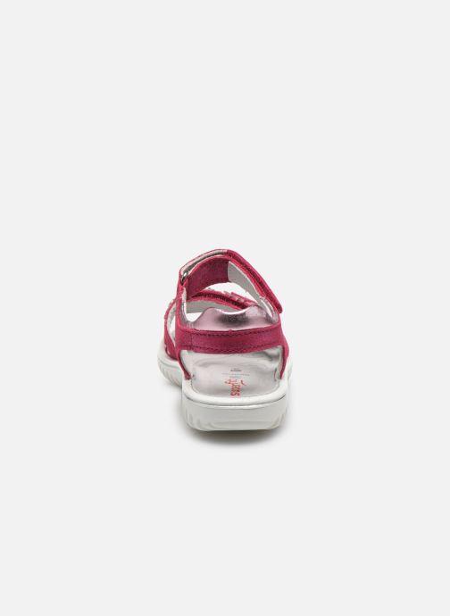 Sandales et nu-pieds Superfit Sparkle Rose vue droite