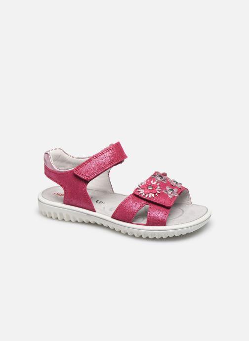 Sandales et nu-pieds Superfit Sparkle Rose vue détail/paire
