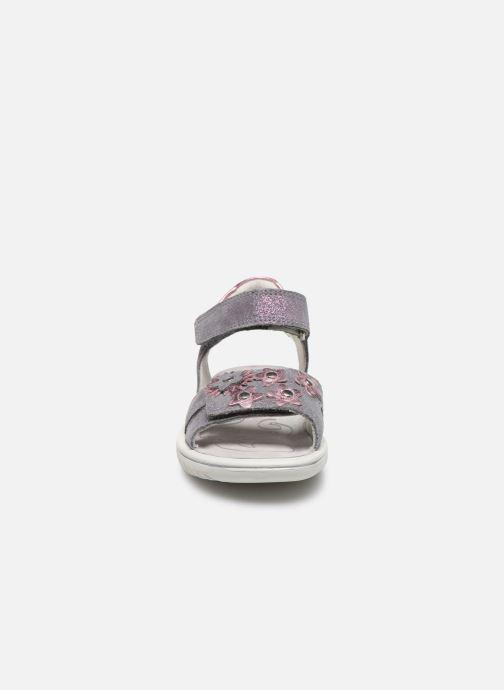 Sandales et nu-pieds Superfit Sparkle Violet vue portées chaussures