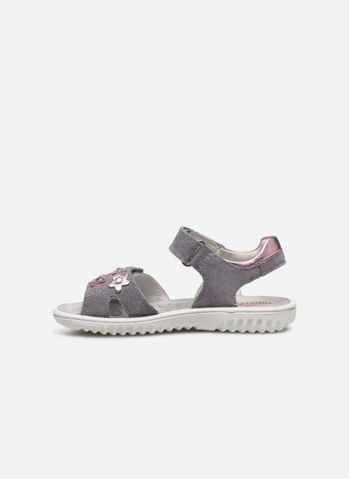Sandales et nu-pieds Superfit Sparkle Violet vue face