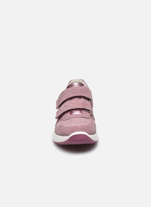 Sneaker Superfit Merida rosa schuhe getragen