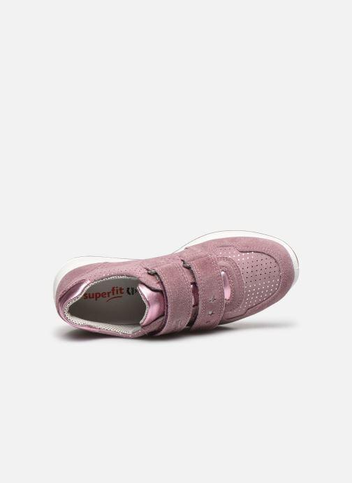 Sneaker Superfit Merida rosa ansicht von links