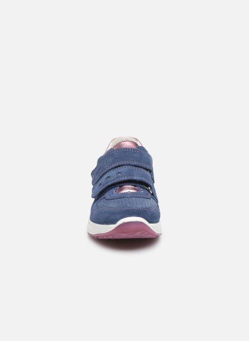 Sneakers Superfit Merida Azzurro modello indossato