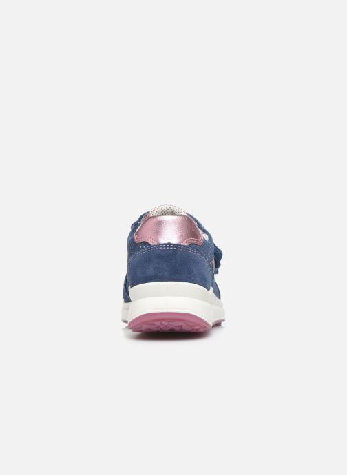 Sneaker Superfit Merida blau ansicht von rechts