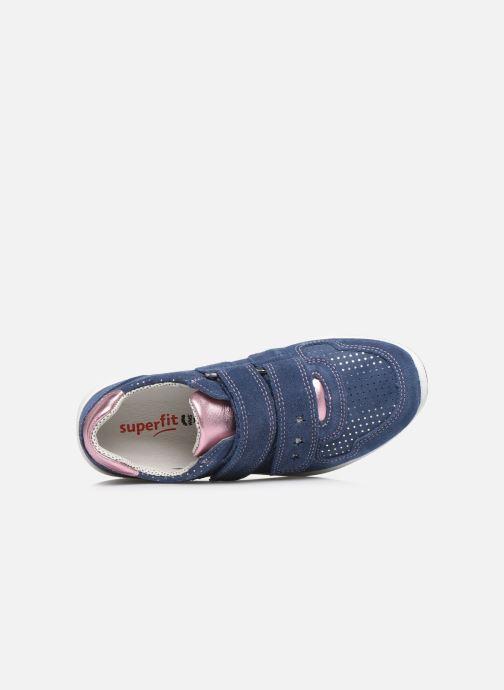 Sneaker Superfit Merida blau ansicht von links