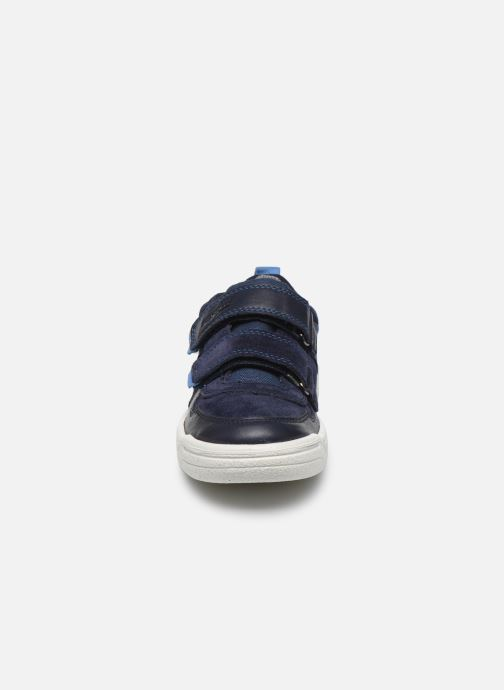 Sneaker Superfit Earth blau schuhe getragen