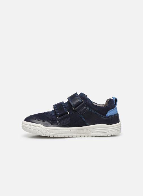 Sneaker Superfit Earth blau ansicht von vorne
