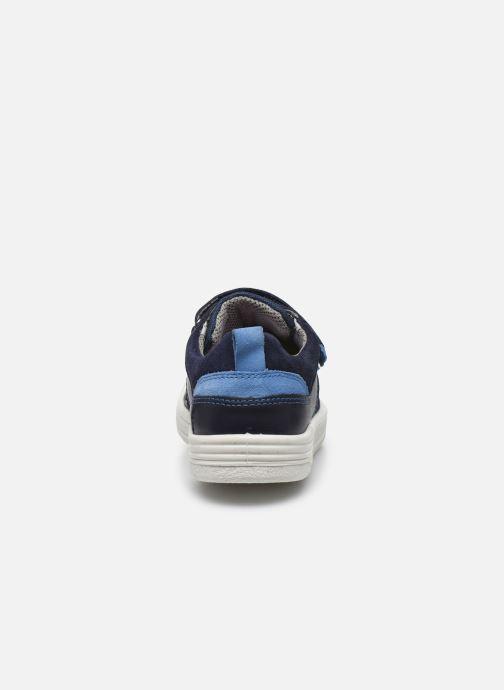 Baskets Superfit Earth Bleu vue droite