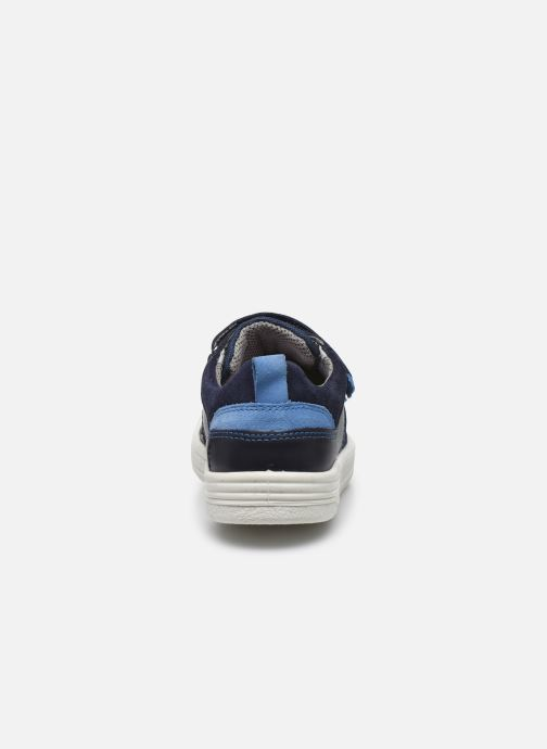 Sneaker Superfit Earth blau ansicht von rechts
