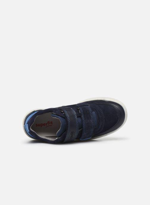 Sneaker Superfit Earth blau ansicht von links