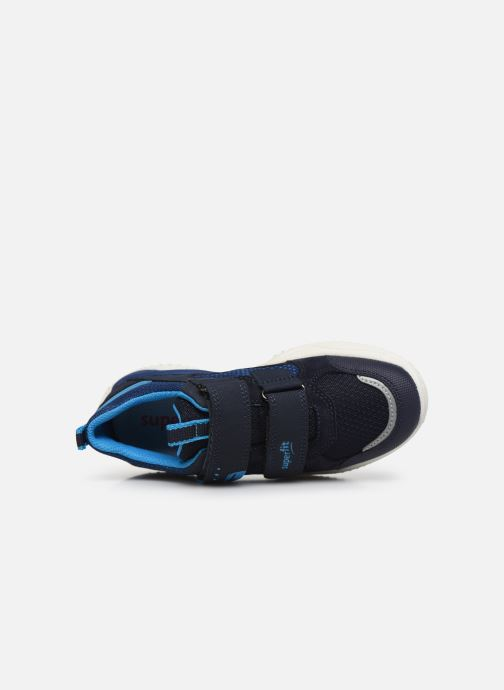 Baskets Superfit Thunder Bleu vue gauche