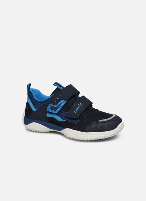 Baskets Superfit Thunder Bleu vue détail/paire